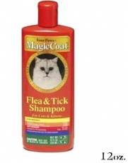 MAGIC COAT FLEA &TICK;SHAMPOO FOR CAT