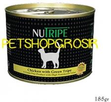 MAKANAN KUCING GRAIN FREE NUTRIPE CLASSIC CHICKEN & GREEN LAMB TRIP FORMULA CAT FOOD