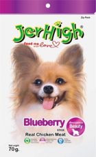 SNACK ANJING JERHIGH BLUEBERRY 70GRAM