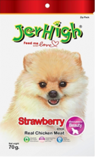 SNACK ANJING JERHIGH STRAWBERRY 70GRAM