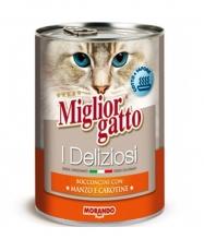 Miglior Gatto Beef Carrot 400gr