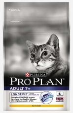 MAKANAN KUCING PURINA PRO PLAN CAT ADULT 7+ 2,5 KG
