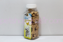 Snack Anjing Pet8 Dog Biscuits Chicken Flavour 110gr (tulang)