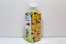 Snack Anjing Pet8 Dog Biscuits Mix Flavour 200gr (tulang)