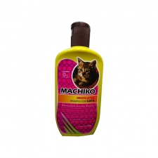 Shampoo Jamur & Bakteri Machiko Medicated Shampoo For Cat 225mL