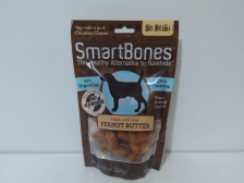 Snack Anjing Smart Bones Peanut Butter 16 Mini
