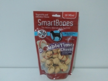Snack Anjing Smart Bones Double Time Chews 16 Mini