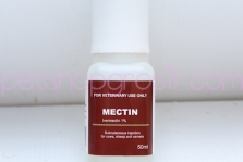 Obat Parasit Mectin Injection Cair 50mL (For Veterinary Use Only)