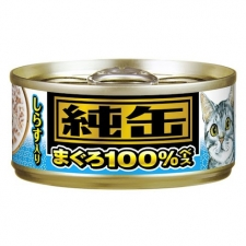 Makanan Kucing Aixia JMY14 Jun-can Mini Tuna with Whitebait 65gr