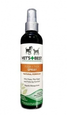 Spray Kutu Anjing & Kucing Vet's Best Flea + Tick Spray 8oz (236mL)