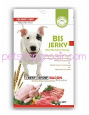 Snack Anjing BIS Jerky Bacon 70gr