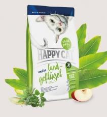 Makanan Kucing Happy Cat Sensitive - Land-Geflgel (Poultry) GLUTEN FREE 4kg