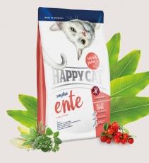 Makanan Kucing Happy Cat Sensitive - Ente (Duck) GLUTEN FREE 1.4kg