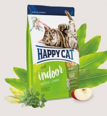 Makanan Kucing Happy Cat Supreme Indoor Weide-Lamm (Farm Lamb) 1.4kg