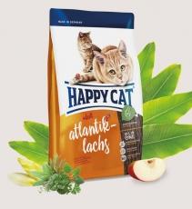 Makanan Kucing Happy Cat Supreme Atlantik-Lachs (Atlantic Salmon) 1.4kg