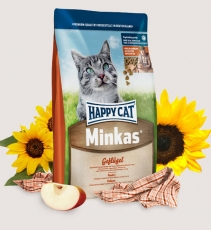 Makanan Kucing Happy Cat Minkas Poultry 1.5kg