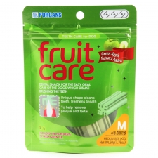 Snack Anjing Forcans Fruit Care Green Apple M 50gr