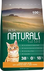 Makanan Kucing Hi-Tek Naturals Grain Free Chicken Meal with Whitefish Meal and Sweet Pottato for Cat 6lbs