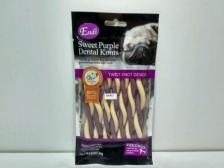 Snack Anjing Endi Dual Sweet Purple Vegetable Twist 80gr