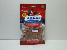 Snack Anjing Vegebones Skin & Coat Care Soft Bones 60gr