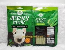 Snack Anjing / Dog Treats Wujibrand Jerky Stick Spinach 70gr