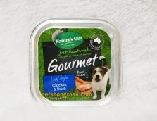 Makanan Basah / Kornet Anjing Nature's Gift Gourmet Chicken & Duck Loaf Style 100gr