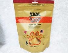 Snack Anjing Grain Free Zeal Treats Free Range Naturals Venison Ears 125gr