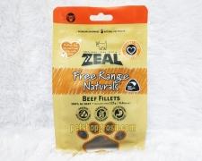 Snack Anjing Grain Free Zeal Treats Free Range Naturals Beef Fillets