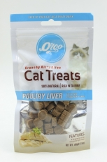 Orgo Poultry Liver Cat Treats 60gr