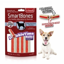 Snack Anjing Smart Bones Double Time Rolls Chicken 4 Small