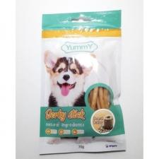 Snack Anjing Yummy Jerky Stick Peanut Butter 70gr
