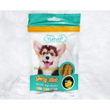 Snack Anjing Yummy Jerky Stick Cheese 70gr
