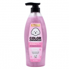 Shampoo Anjing Maxima Red Poodle Luster Color Enhancer Red-Brown 600ml